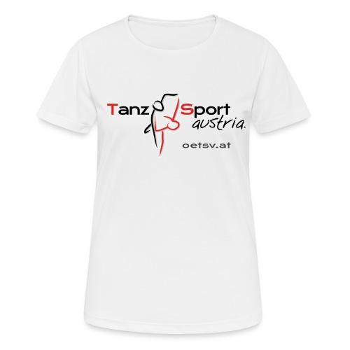 Logo OTSV V1 Internet gif - Frauen T-Shirt atmungsaktiv