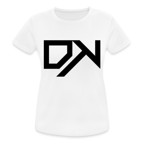 DewKee Logo Cap Black - Women's Breathable T-Shirt