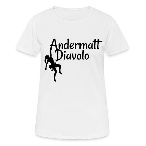 Andermatt Diavolo Uri Geschenkidee - Frauen T-Shirt atmungsaktiv