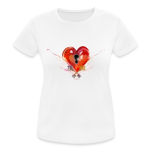 stvalentinmotif2 - T-shirt respirant Femme