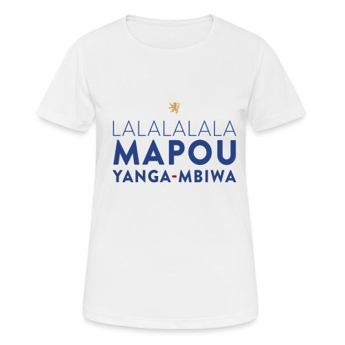 Mapou YANGA-MBIWA - T-shirt respirant Femme