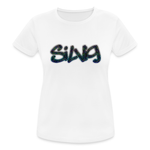 SilViG logo limited - Dame T-shirt svedtransporterende