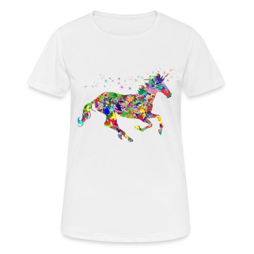 Einhorn - Frauen T-Shirt atmungsaktiv