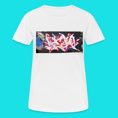 streetart #12 - Vrouwen T-shirt ademend actief