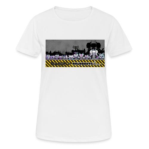 #MarchOfRobots ! LineUp Nr 2 - Dame T-shirt svedtransporterende
