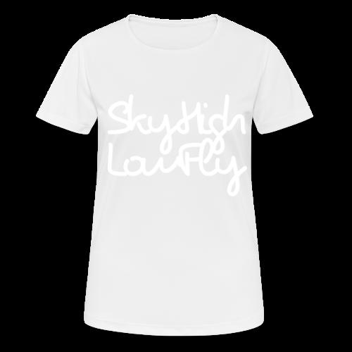 SkyHighLowFly - Bella Women's Sweater - White - Women's Breathable T-Shirt