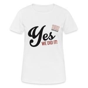 black - Frauen T-Shirt atmungsaktiv