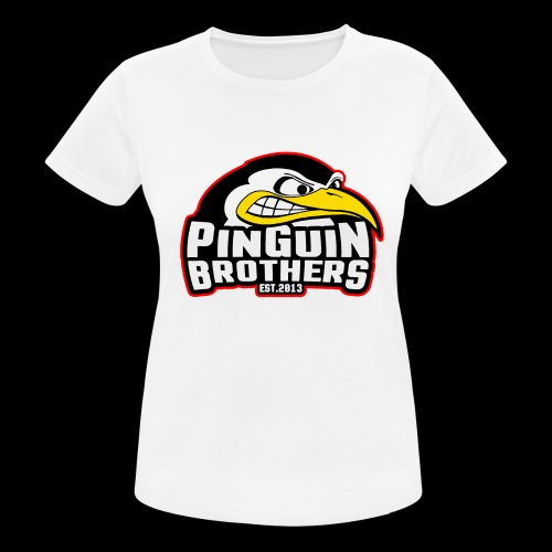 Pinguin bracia Clan - Koszulka damska oddychająca