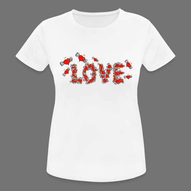 Latające miłości serc