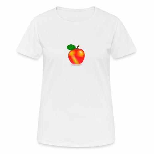 Apfel - Frauen T-Shirt atmungsaktiv