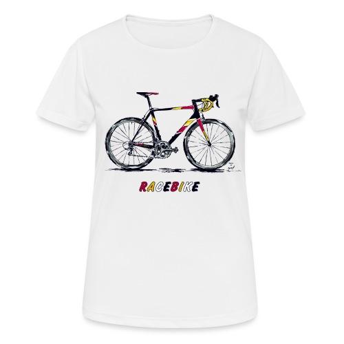 RACEBIKE - Frauen T-Shirt atmungsaktiv