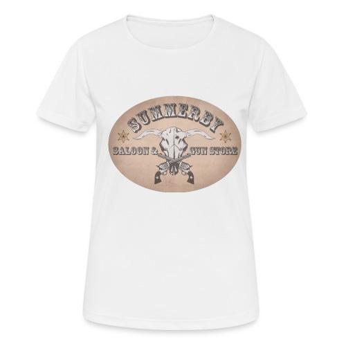 Summerby Saloon - Frauen T-Shirt atmungsaktiv