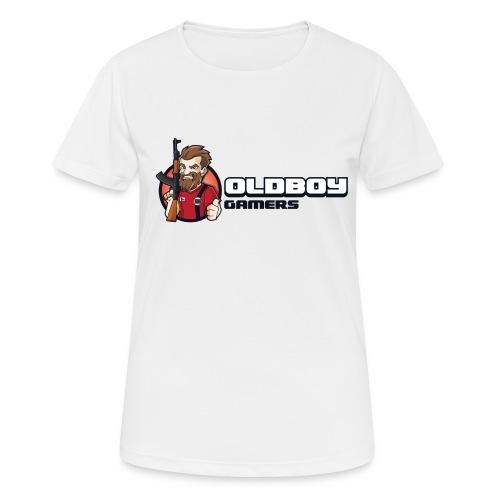 Oldboy Gamers Fanshirt - Pustende T-skjorte for kvinner