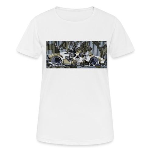 calavera style - Women's Breathable T-Shirt