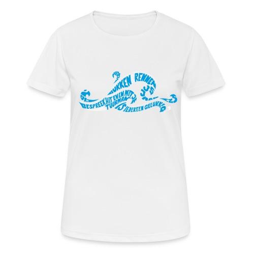 EZS T shirt 2013 Front - Vrouwen T-shirt ademend actief