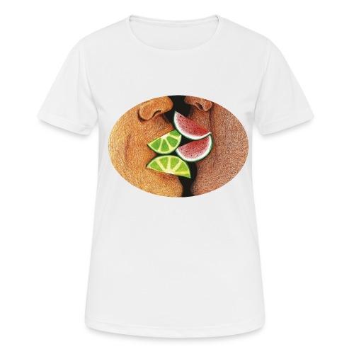 Diversas formas de besar - Camiseta mujer transpirable