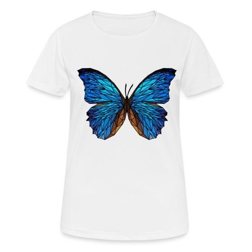 PAPILLON - LOW POLY (Outline) - T-shirt respirant Femme