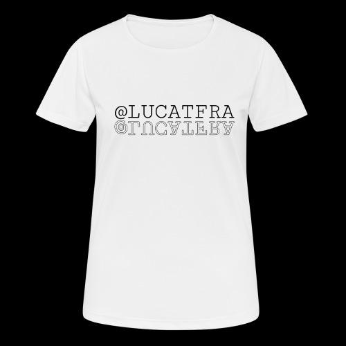 @lucatfra - Maglietta da donna traspirante