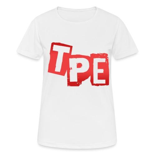 TPE Nalle - Andningsaktiv T-shirt dam