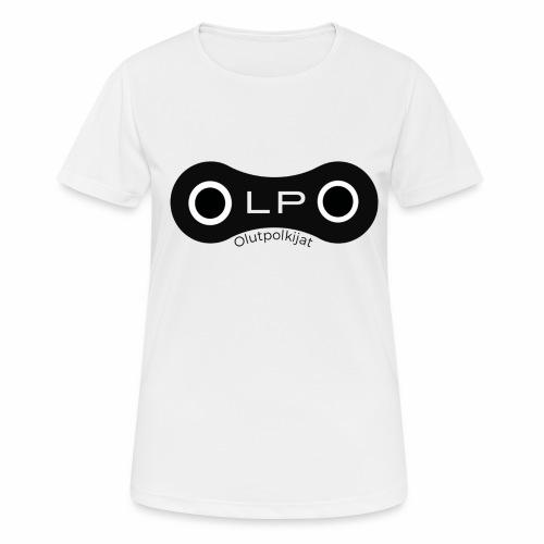 OLPO - naisten tekninen t-paita