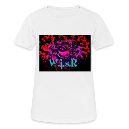 WisR Naisten T- Paita - naisten tekninen t-paita