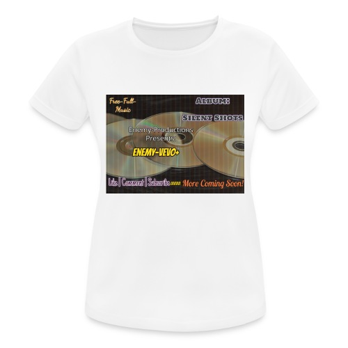 Enemy_Vevo_Picture - Women's Breathable T-Shirt