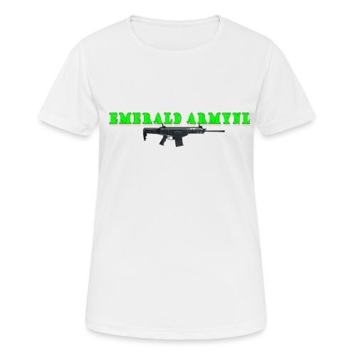 EMERALDARMYNL LETTERS! - Vrouwen T-shirt ademend actief