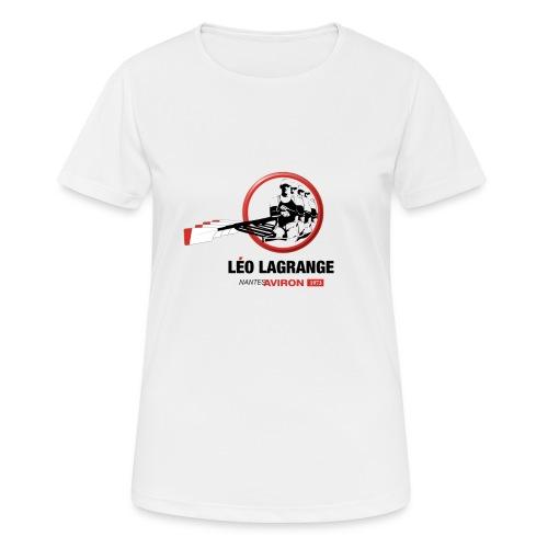 Léo Lagrange Nantes Aviron - T-shirt respirant Femme