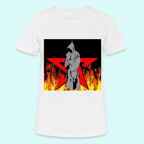 moine et pentagramme - T-shirt respirant Femme