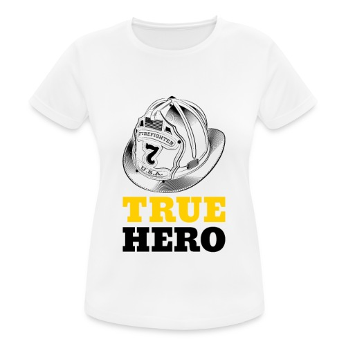 True Hero - Frauen T-Shirt atmungsaktiv
