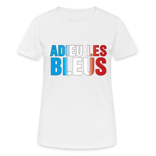 Adieu les bleus - Frauen T-Shirt atmungsaktiv