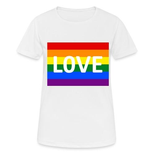 LOVE SHIRT - Dame T-shirt svedtransporterende