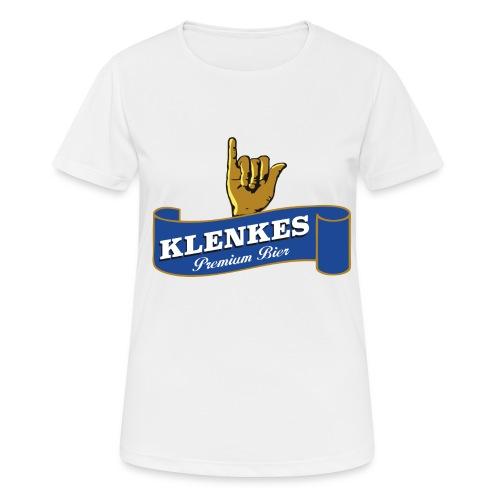 Klenkes Bier - Frauen T-Shirt atmungsaktiv