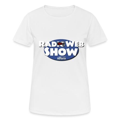 Logo RadioWebShow - Maglietta da donna traspirante