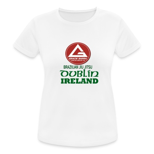 Gracie Barra Dublin Gaelic Celtic Font PNG - Women's Breathable T-Shirt