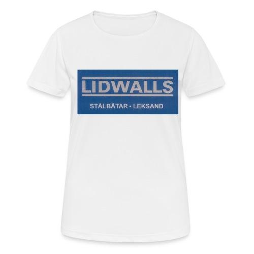 Lidwalls Stålbåtar - Andningsaktiv T-shirt dam