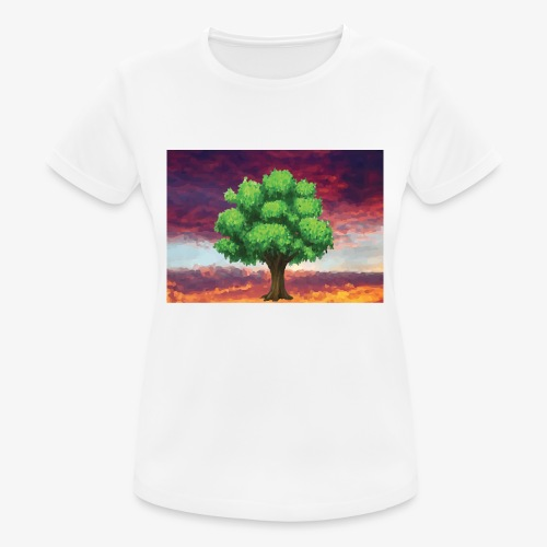 Tree in the Wasteland - Women's Breathable T-Shirt