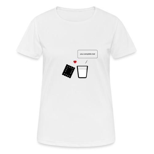 Regali per Innamorati | Mi Completi - Maglietta da donna traspirante