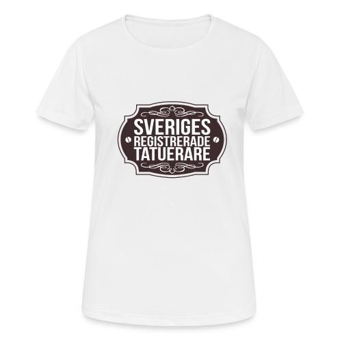 SverigesTatuerare - Andningsaktiv T-shirt dam