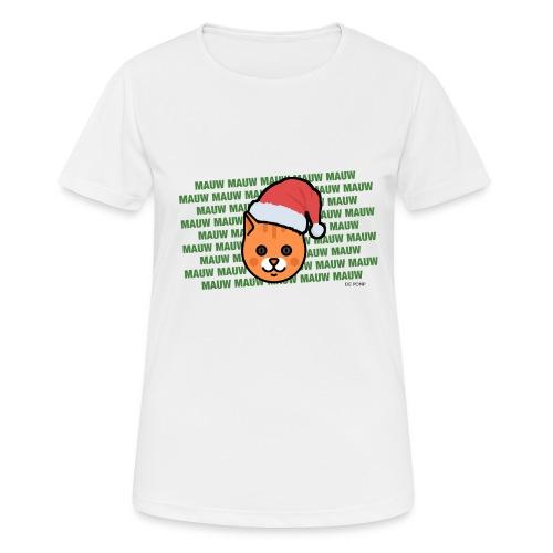 mauw - Vrouwen T-shirt ademend actief
