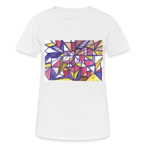 Flickenteppich - Frauen T-Shirt atmungsaktiv