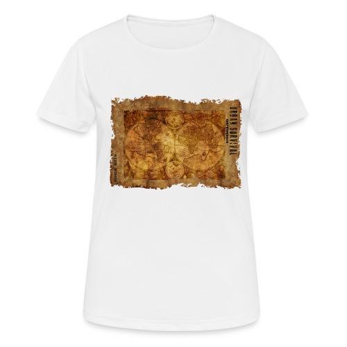 map of the world 2241469 1920 - Frauen T-Shirt atmungsaktiv