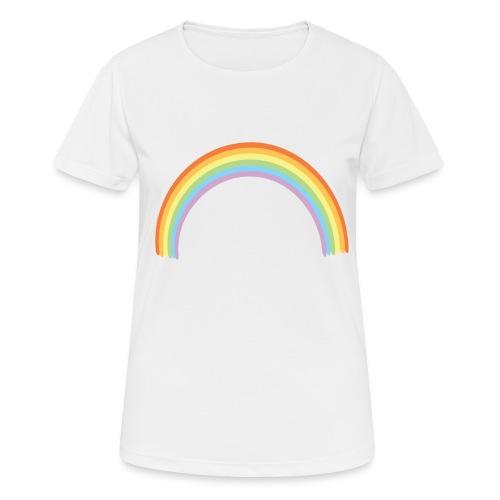 Arco Iris - Camiseta mujer transpirable