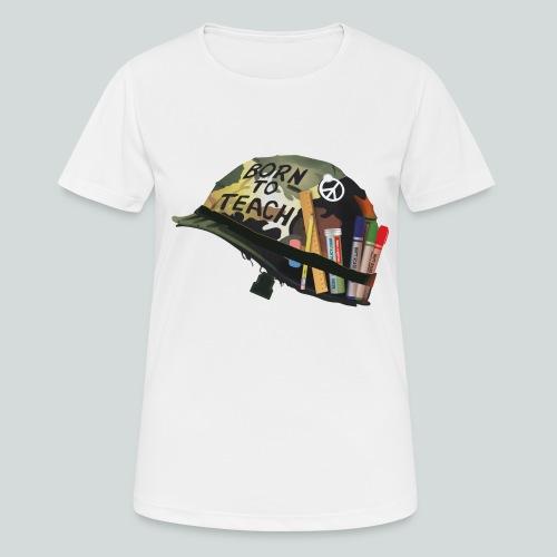 Born to teach - AAS - T-shirt respirant Femme