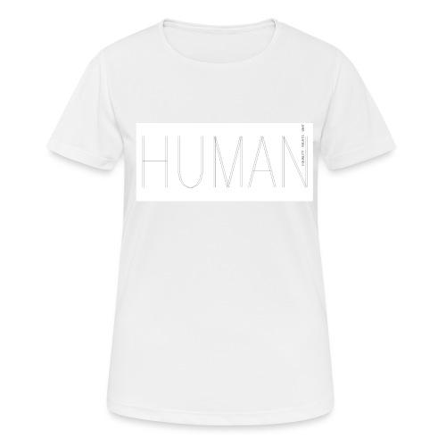 Human Collection 1.0 - Andningsaktiv T-shirt dam