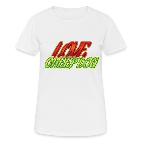 Love Cheep Dog - Frauen T-Shirt atmungsaktiv