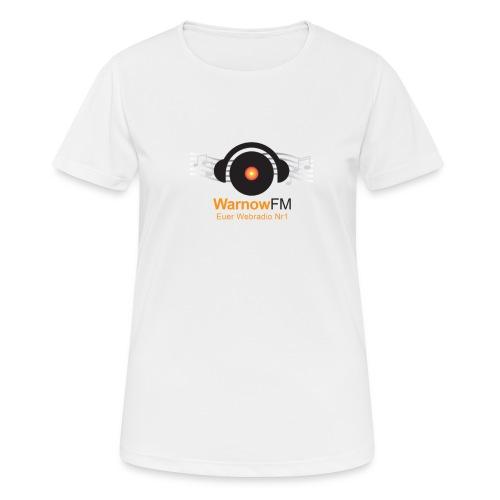 CD Kopfhörer - Frauen T-Shirt atmungsaktiv