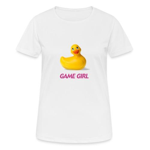 game girl - T-shirt respirant Femme