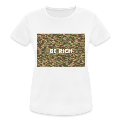 ARMY TINT - Vrouwen T-shirt ademend actief
