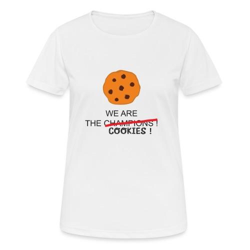 WE ARE THE COOKIES - Maglietta da donna traspirante